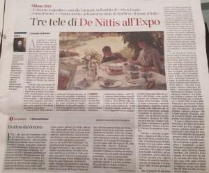 articolo De Nittis e l'expo