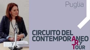 DIRETTORE ARTISTICO DI  PUGLIA CIRCUITO DEL CONTEMPORANEO